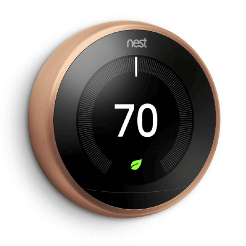 Google Nest Learning Thermostat 3rd Generation image 4563098271788