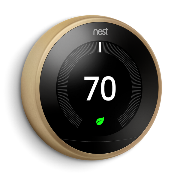 Google Nest Learning Thermostat 3rd Generation image 4563098304556