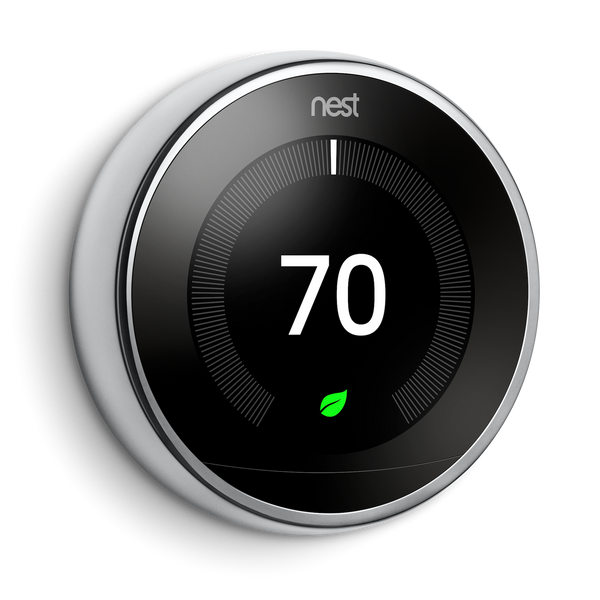 Google Nest Learning Thermostat 3rd Generation image 4563098140716