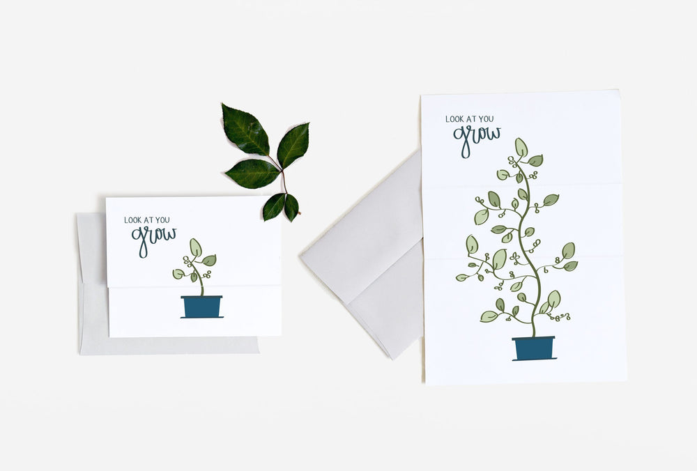 Look At You Grow Expandable Card