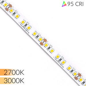 Ultra High 95 CRI LED Strip Lights for Home & Residential - 16ft/5m Reel