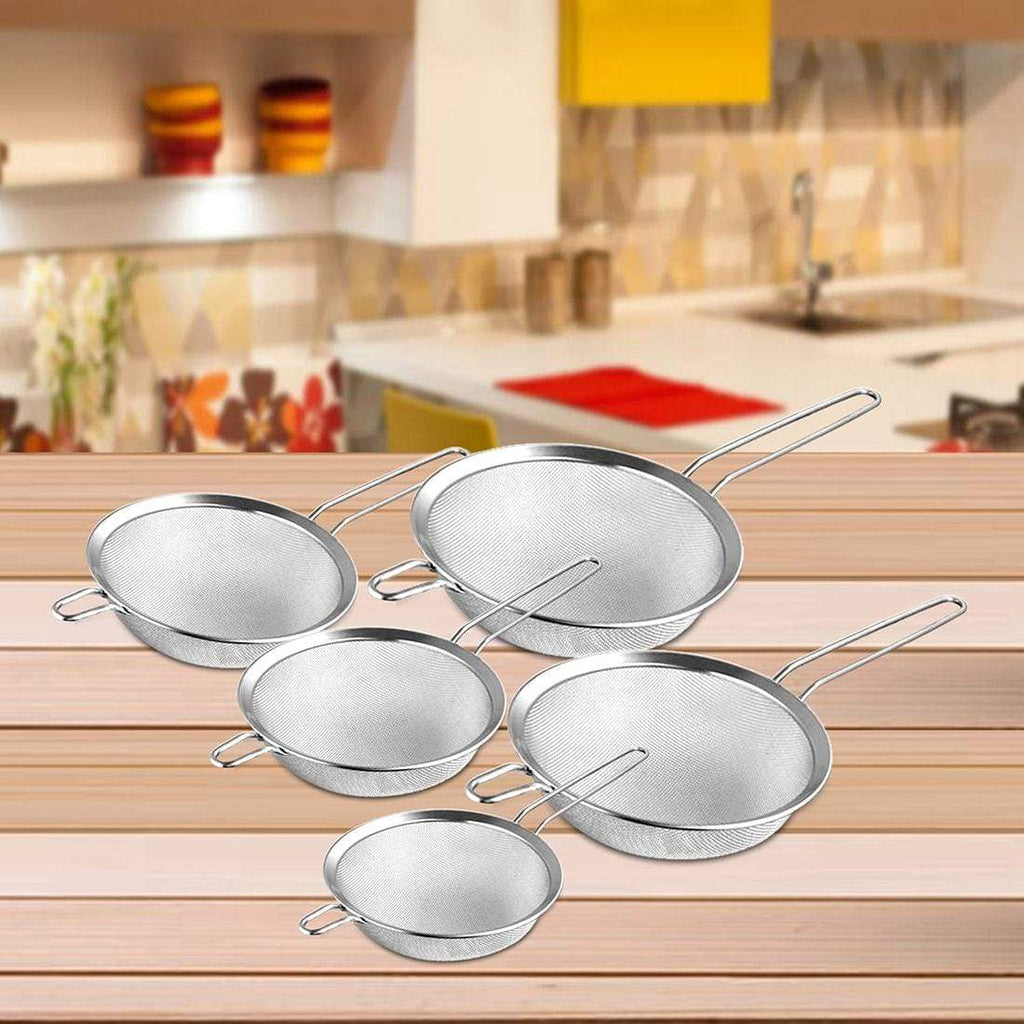 Jagdamba Cutlery Pvt Ltd. Combo Strainer Set of 5
