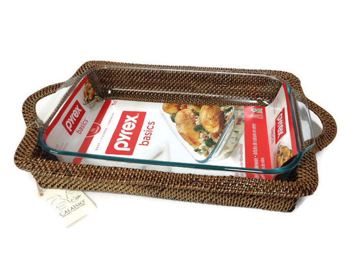 Calaisio - Rectangular Baker with Handles 2Qt