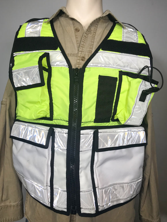 Two Tone High Visibility Vest by The Vest Guy