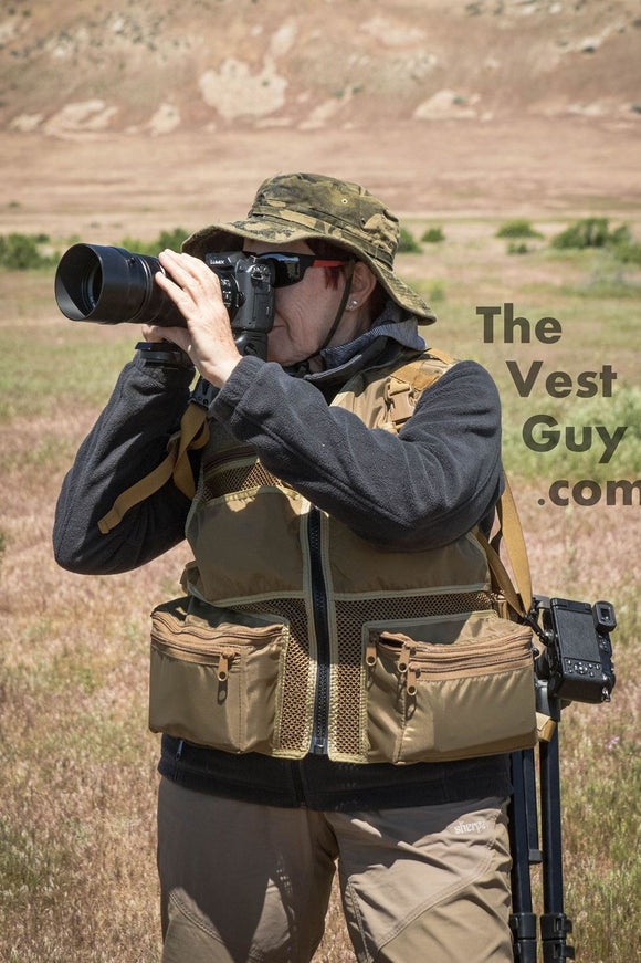 Mirrorless Camera Vest by TheVestGuy - Mirrorless Camera Photo Vest