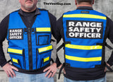 Range Safety Officer Vest Blue