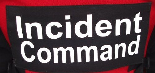 Incident Command Name Tag