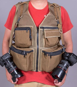 M&M Travel Photography Vest / Custom Photo Vest by TheVestGuy.com