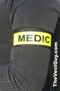 "1.5"" reflective ID armband or pant clip"