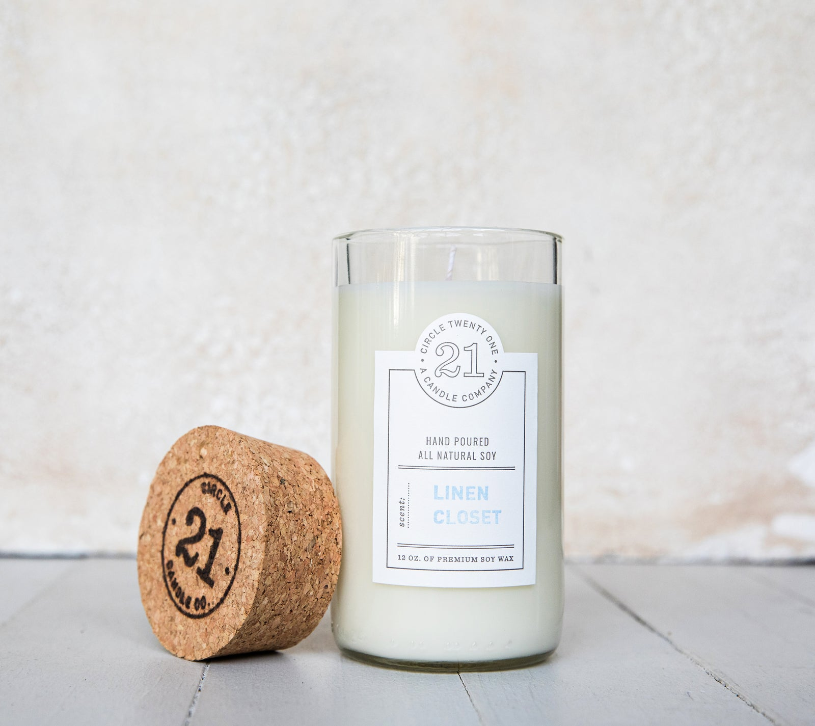 Circle 21 Candles - Linen Closet Candles