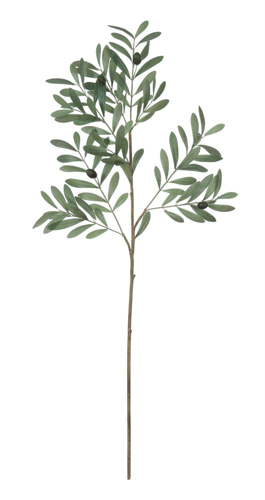 "36""H Faux Olive Branch"