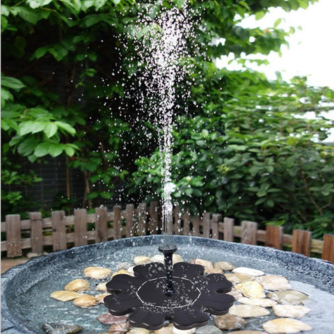 Birdbath Water Fountain Pump Pool