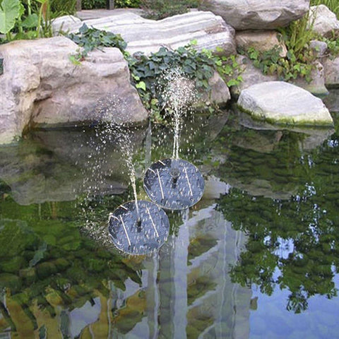 Panel Fountain Pool Garden Pond