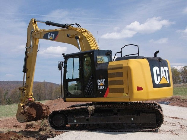 Caterpillar 318FL EXCAVATOR Service Repair Manual FFT