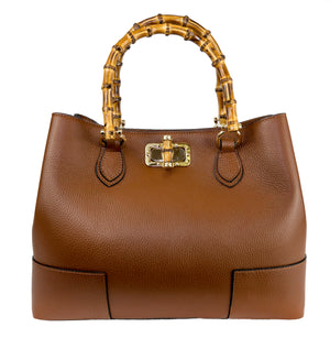 The Natalia (Brown) Businesses Handbag