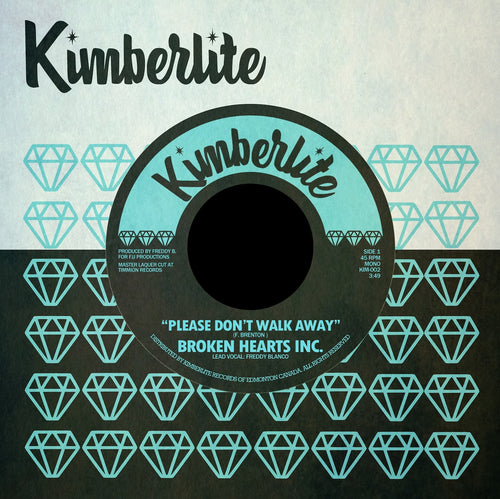 Digital Download | Broken Hearts Inc. - Please Don't Walk Away b/w Heartache (Is All You Get) (KIM-002)