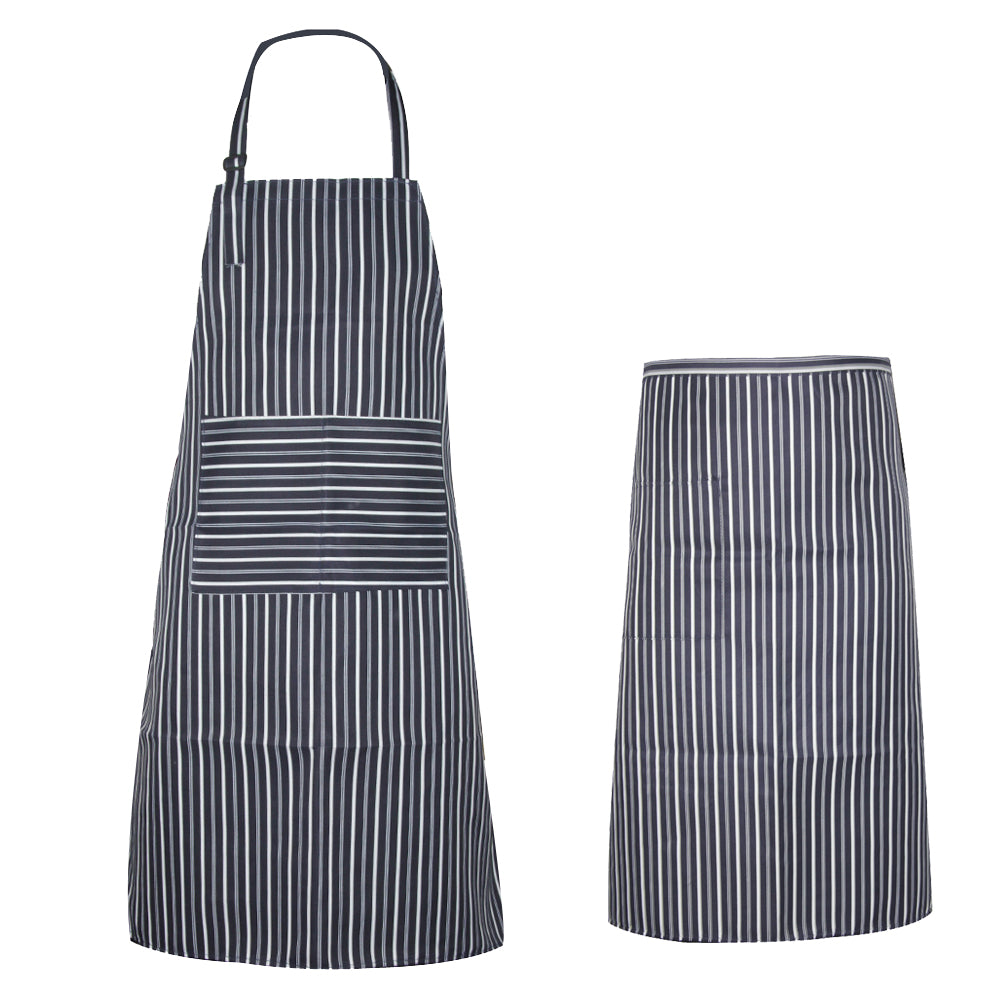 BBQthingz™ | Classic Polyester Utility Apron with Pockets | 2 PC Set