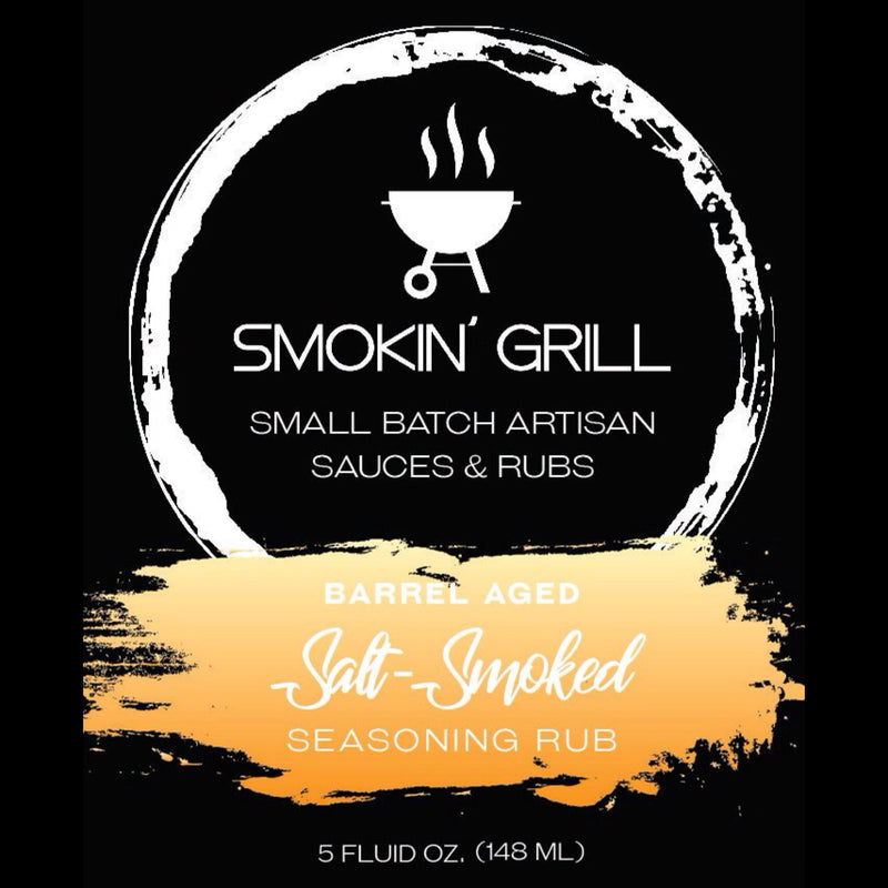 Salt-Smoked Seasoning Rub - BBQthingz.com | Artisan Hot Sauces & Rubs