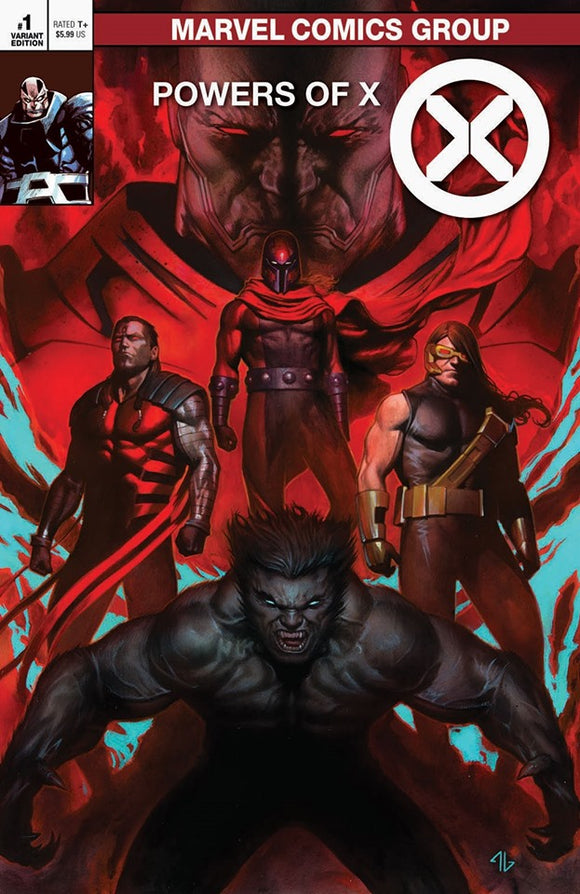 Pre-Order: POWERS OF X #1 Adi Granov EXCLUSIVE! ***Available in TRADE DRESS, VIRGIN, and SET!***