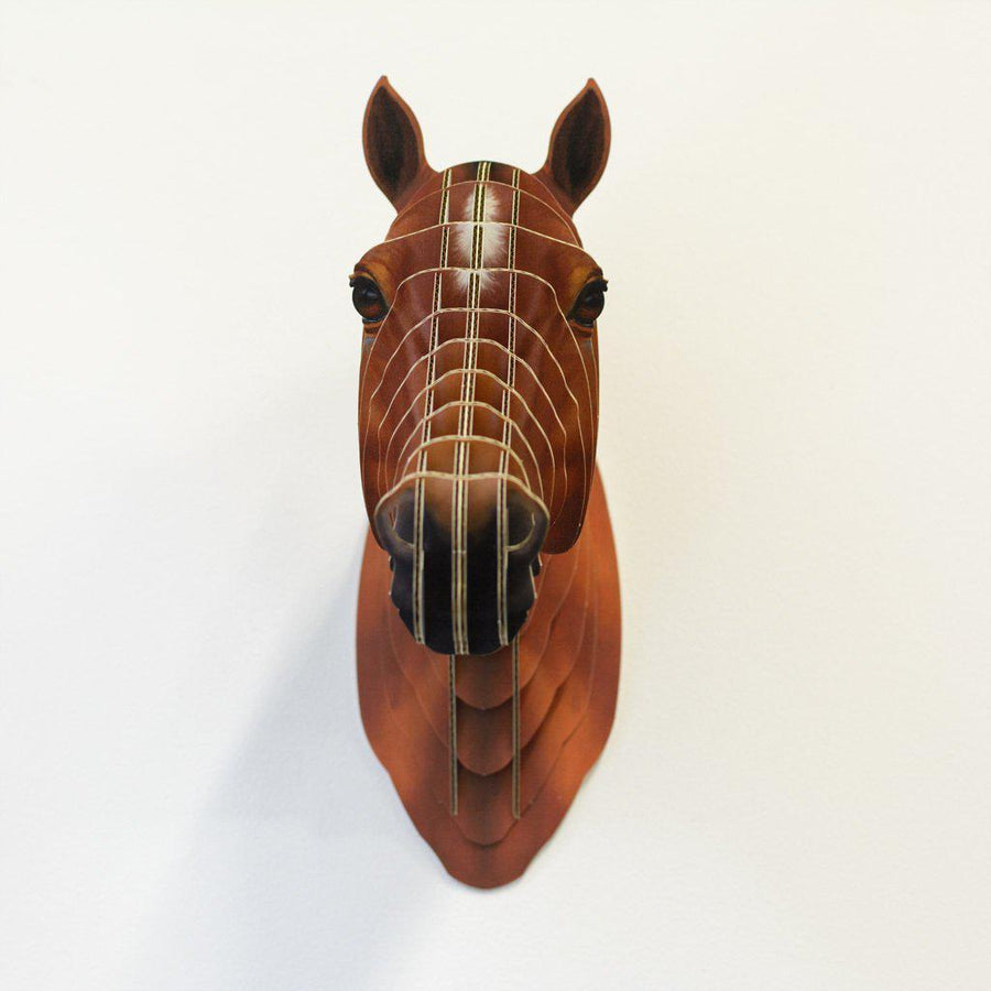 Cool Cardboard Horse Head ShopRely