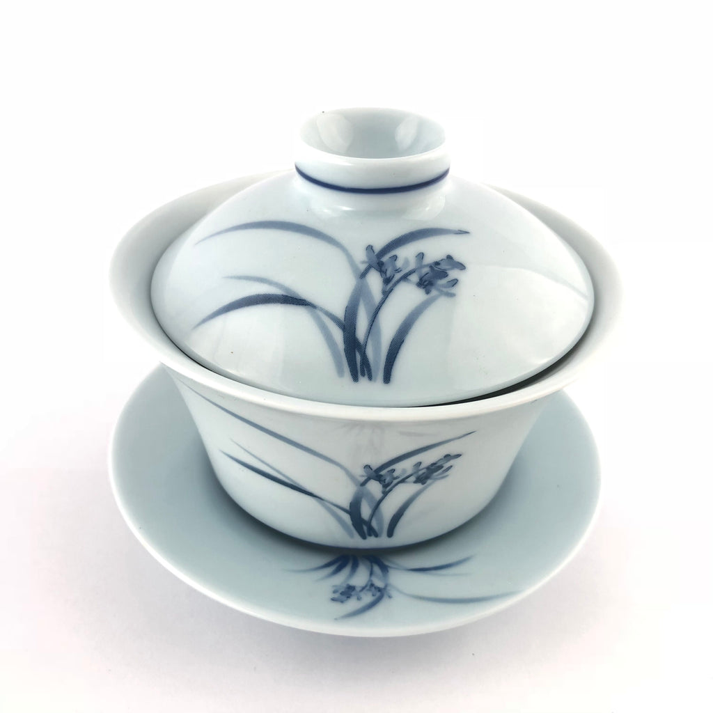 190ml Blue Orchid Gaiwan