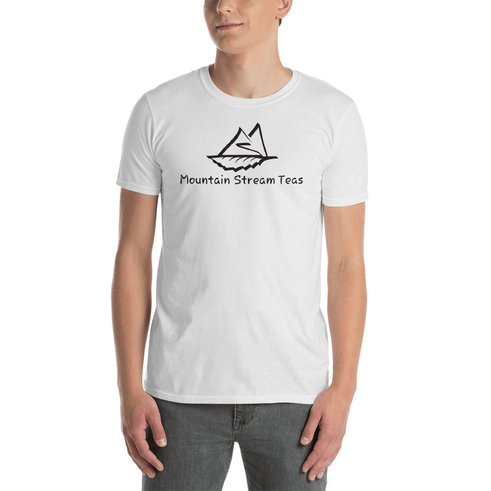 Mountain Stream Teas Unisex T-Shirt(White)