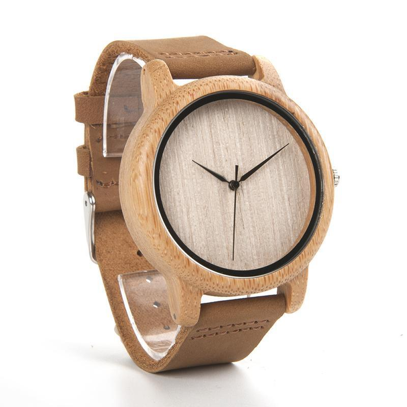 Bamboo Wood Watch with no Dials