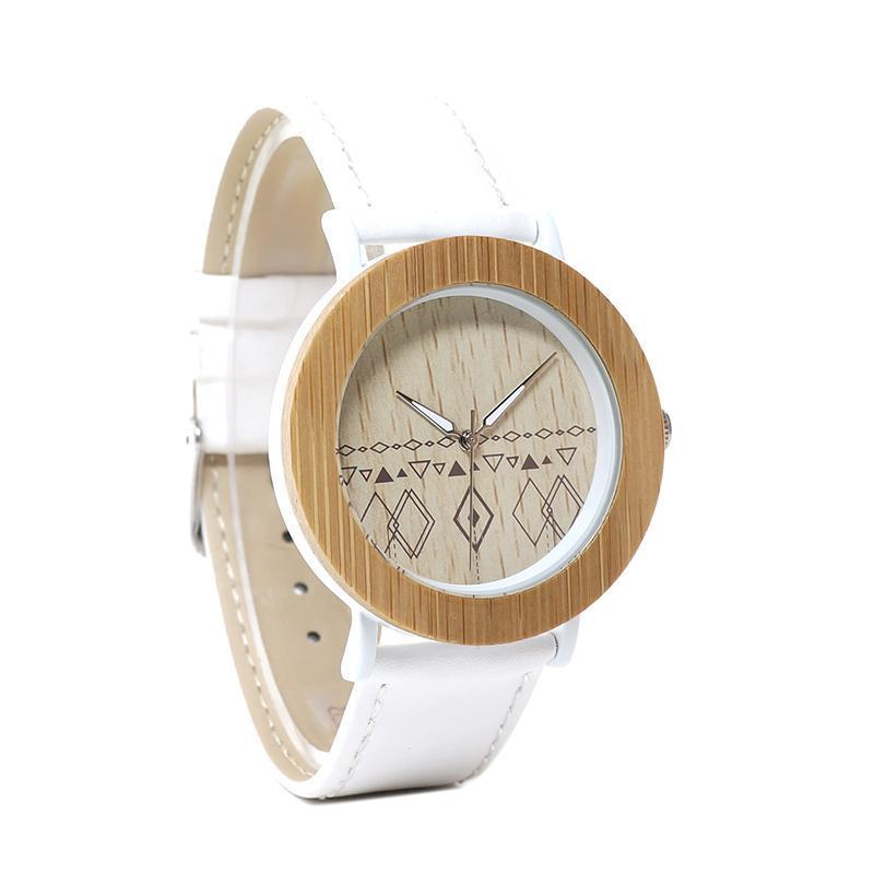 Bamboo Wristwatch for Women