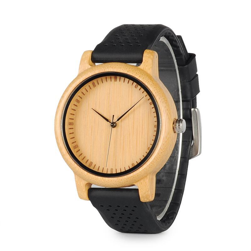 Luxury Bamboo Ladies' Watch