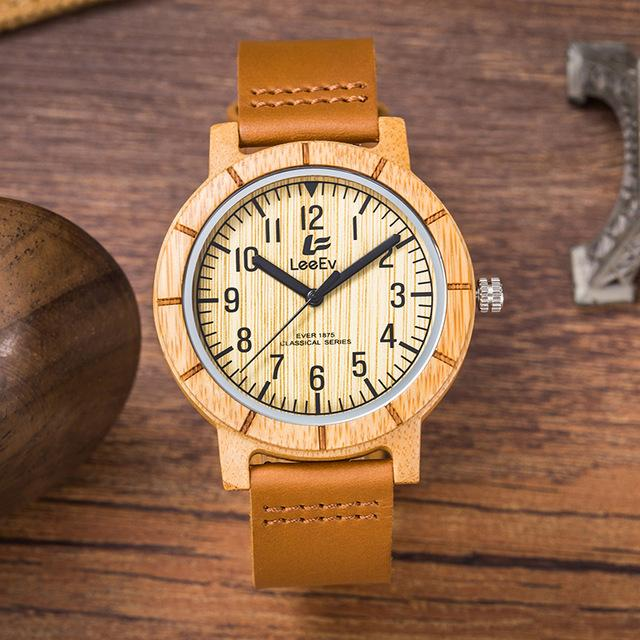 Men's Bamboo Watch
