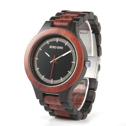 Two-tone Wooden Watch