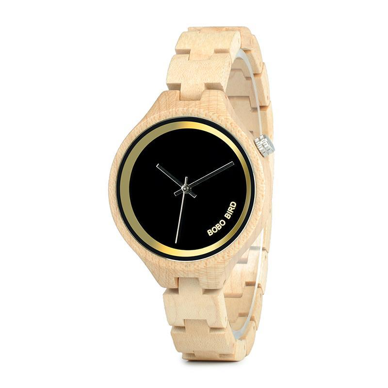 Women's Wooden Luxury Watch