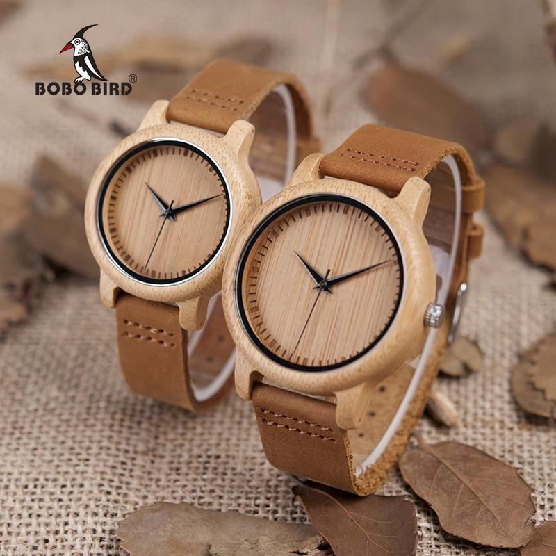 Wooden Men & Women Lover Watches