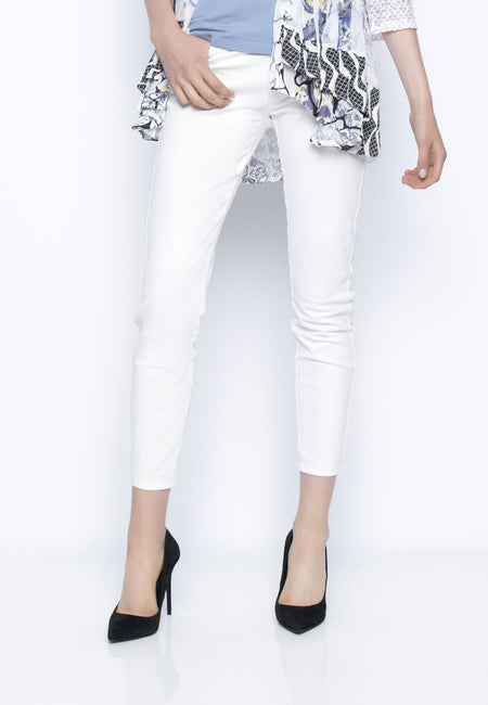 Pull-On Drawstring Pants With Tabs