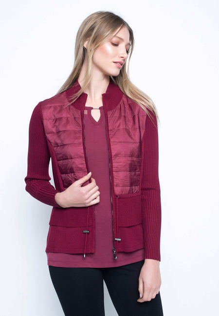 Lace Open Front Jacket
