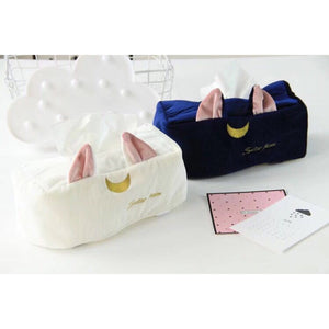 Sailor Moon Luna Tissue Box Cover