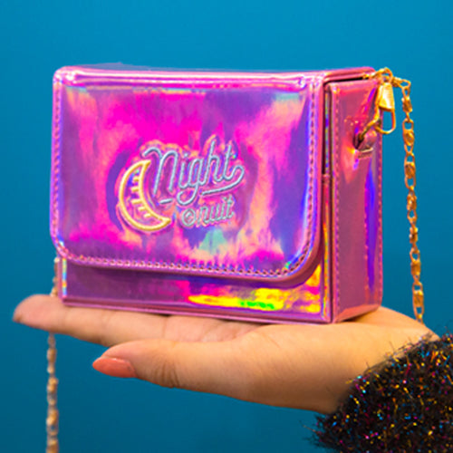 Le Nuit Mini Neon Flap Clutch