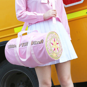Japanese Card Captor Sakura Gym Bag/Duffel Bag