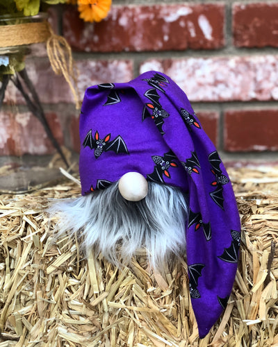 Purple Bats Gnome