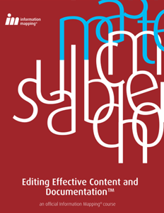 Editing Effective Content and Documentation