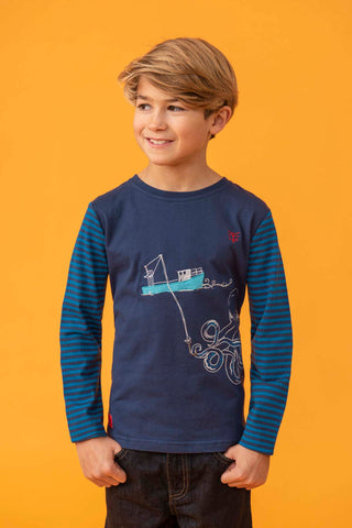 Boy's Long Sleeve Tops & Shirts