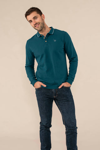 Okendo_Pier Long Sleeve Polo