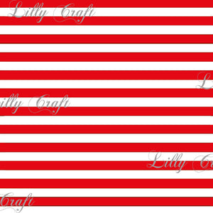 "Striped 1/2"" Poly Cotton Fabric - Sold By The Yard - 58"" / 59"""