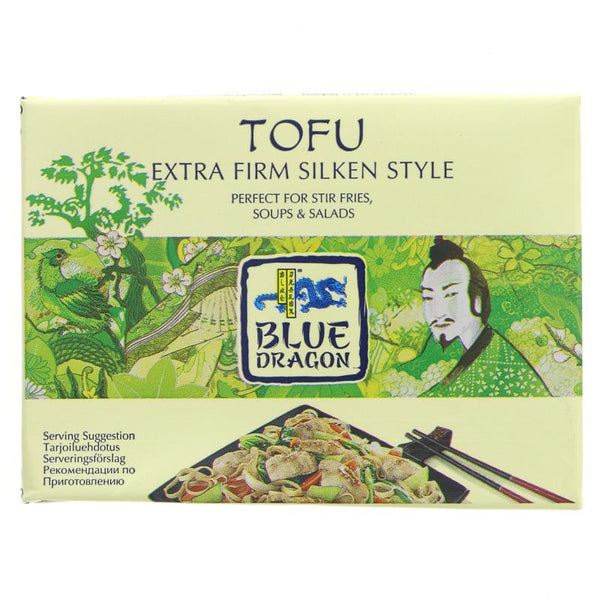 Blue Dragon Tofu - Firm Silken (349g)