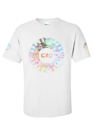 COSMIC WARRIOR HOLOGRAPHIC W TEE