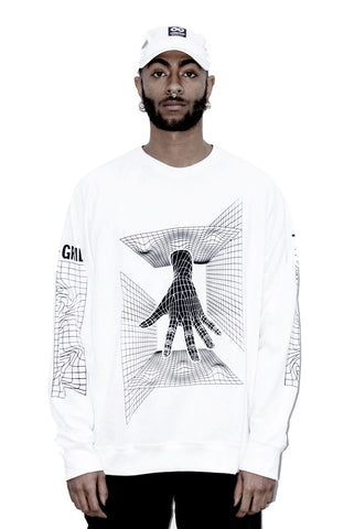 THE GRID HAND W SWEATSHIRT