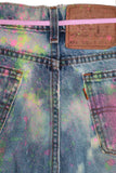 COLORS 2 CUSTOM LEVIS JEANS