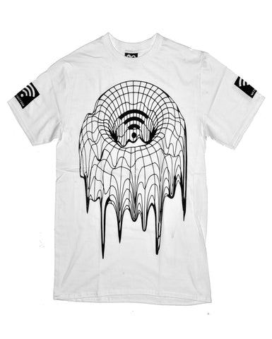 THE GRID TORUS WHITE TEE