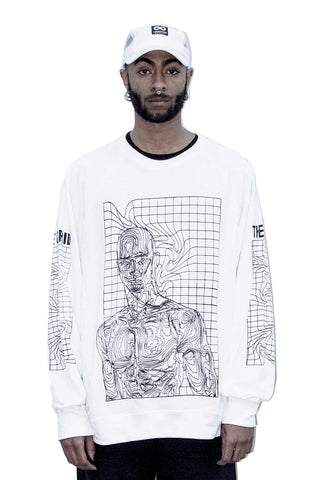 THE GRID HUMANOID W SWEATSHIRT
