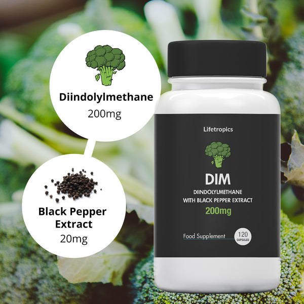 Diindolylmethane with Black Pepper Extract